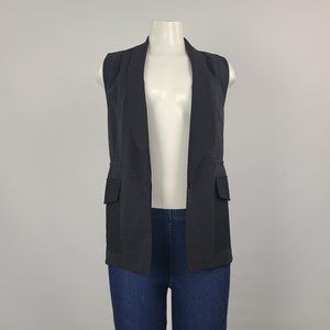 Kit and Ace Black Cashmere Blend Vest Size 2